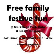 Festive Fun at Markfield Park Cafe and Beam Engine Museum