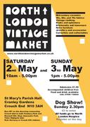 North London Vintage Market - Early May bank holiday edition