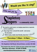 Stapleton singers - community choir