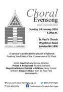 Choral Evensong and Benediction