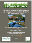 Fairland Park Clean Up Day