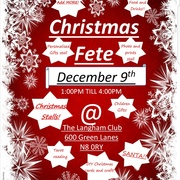 Community christmas fete