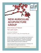 New Auricular Acupuncture group