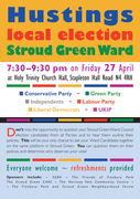 Stroud Green Local Election Hustings