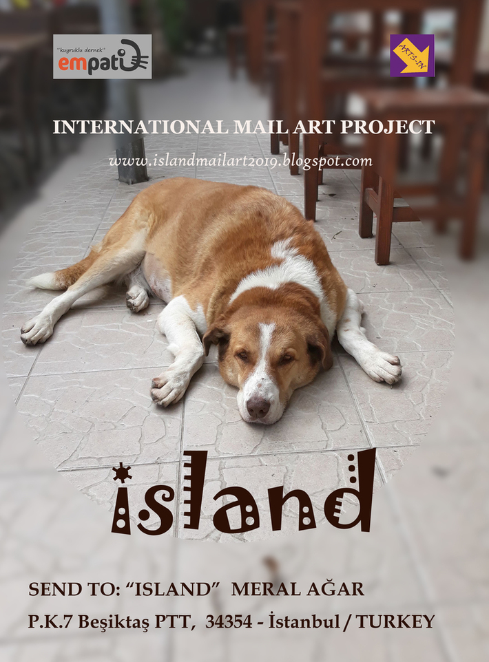 CALL:ISLAND - INTERNATIONAL MAIL ART PROJECT 2019