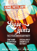 LOOSE JOINTS! Fridays 3 Years Anniversary with JEREMY ELLIS!