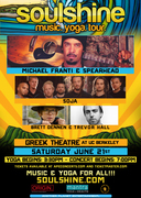 Michael Franti & Spearhead, SOJA, Brett Dennen & Trevor Hall (WIN TICKETS)