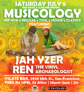 Musicology featuring Jah Yzer & Ren the Vinyl Archaeologist