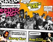 GOLDEN ERA (1st Saturdays) w/ Ren the Vinyl Archaeologist & Kevvy Kev @ Slate Bar SF (Sat 10/4)
