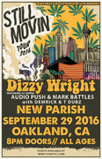 Dizzy Wright - Still Movin Tour 2016