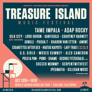 Treasure Island Music Festival feat. A$AP Rocky, Silk City (Diplo x Mark Ronson), Santigold, Pusha T...