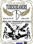 Live in concert - The tubescreamers Band - Blues Rock concert