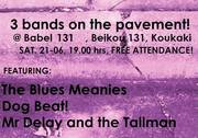 3 bands on the pavement! 21-06 European Music Day @ Babel 131