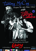 TOMMY MCCOY & THE BOOGIE SINNERS @ LAZY CLUB