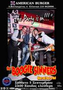 Theo & The Boogie Sinners @ Let the Boogie nights BEGIN! American Burger