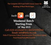 iOS Swift weekend training in Pune