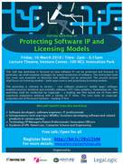 Half day workshop on Protecting Software IP and Licensing Models