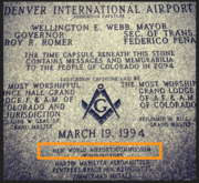 Denver International Airport Capstone