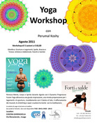 Yoga with Perumal, 5 Workshops im August