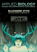 'Applied Biology' Artshow by Stuntkid/Jason Levesque