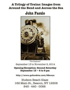 Opening Reception for Trilogy of Trains- Photos by John Fasulo