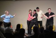 Off The Wall Improv Troupe Returns
