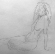 Figure Drawing from the Nude Model - Every Thursday night!