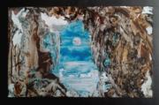 в пещере каменной...
