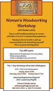Women's Woodworking Workshop