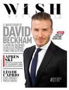 Beckham en WISHCLUB, le encanta nuestra revista!!