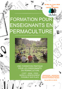 FORMATION D'ENSEIGNANTS EN PERMACULTURE (FEP) méthode Rosemary Rowe Morrow
