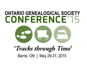 "Ontario Genealogical Society Conference ""Tracks through Time"""