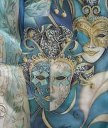 Емилия Попова - Ръчно рисувани копринени шалове.