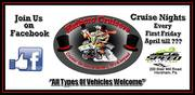 Hatboro Cruiser's First Friday of the month Cruise Nights
