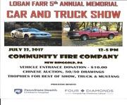 Logan Rarr 5th Annual Memorial car and Truck Show