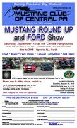Mustang Round Up and Ford Show