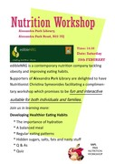 Free Nutrition workshop for both individuals and families