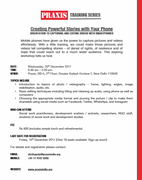 Training: Creating Powerful Stories with your Phone - Orientation to Capturing and Editing videos with Smartphones
