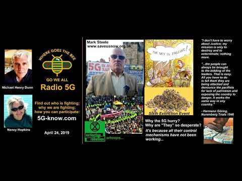 """Radio 5G"" 4/24/19 Mark Steele - What is the story of 5G?"