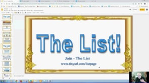 The List will Give You a Ready Made Income. Full Monty Webinar Replay 5th May 2019