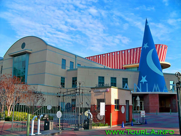 Walt Disney Studios in Burbank, Hollywood