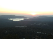 Our view of Shaver Lake
