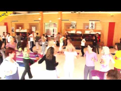 LachYoga fuer Kinder Video Gisela Drombrowsky Kinder yoga Kongress 2011