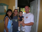 My cousin and family