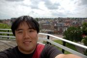 Me at De Falk Wind Mill (Museum) in Leiden