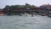 Calatrava bridge in Venice, August 13, 2007