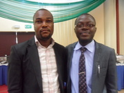 IDRIS KATIB(RIGHT) WITH A COLLEAGUE FROM NIPR,OGUN STATE