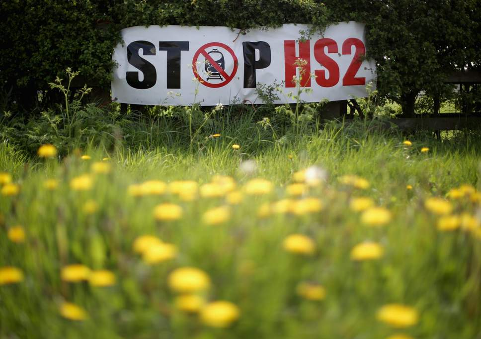 Petition: With 'notice to proceed' delayed again, halt all HS2 enabling work immediately.