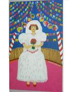 Noiva Caipira  Acrílico e óleo sobre tela 30x60cm 2008