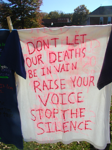 Dont let our deaths be in vain